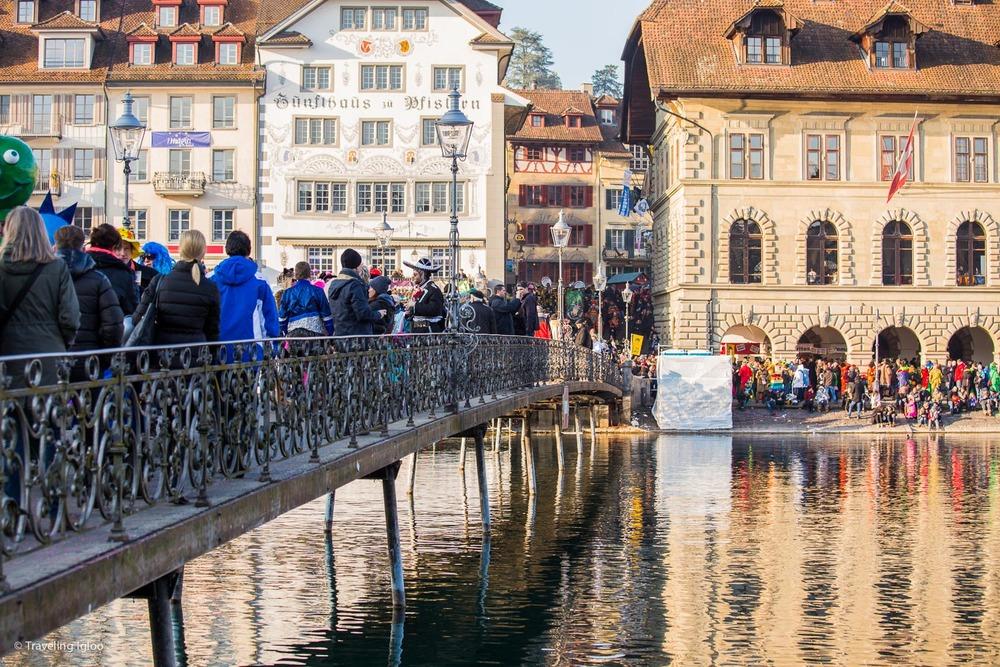 Carnival in Lucerne