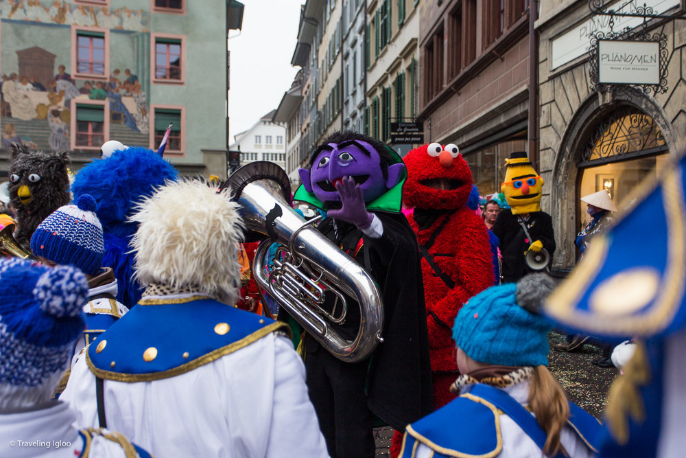 Carnival in Lucerne Switzerland