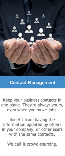 contact management for business proffessionals