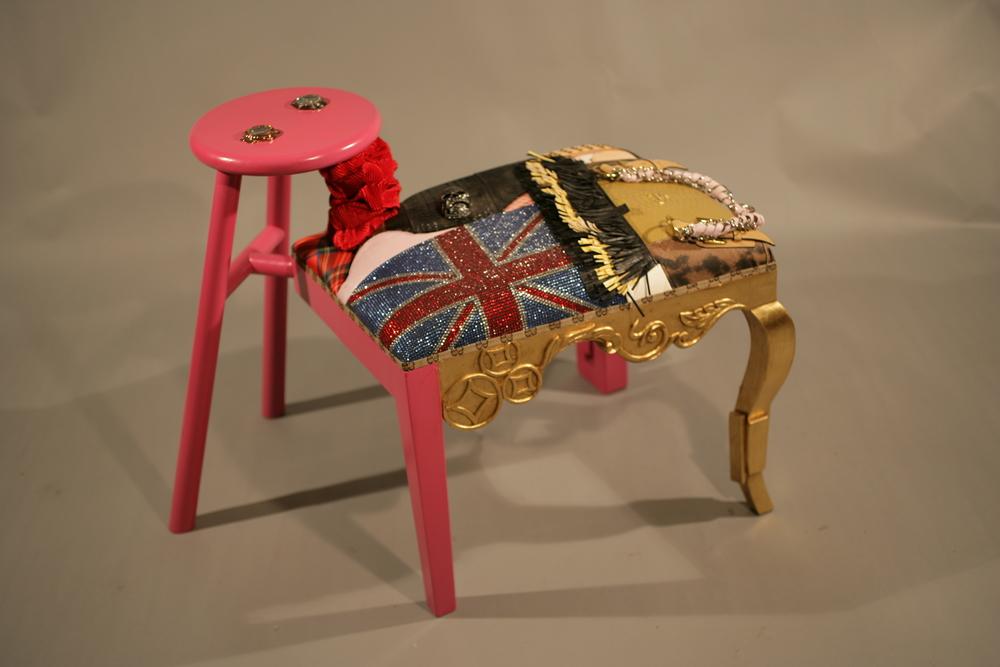 Pink fake stool.JPG