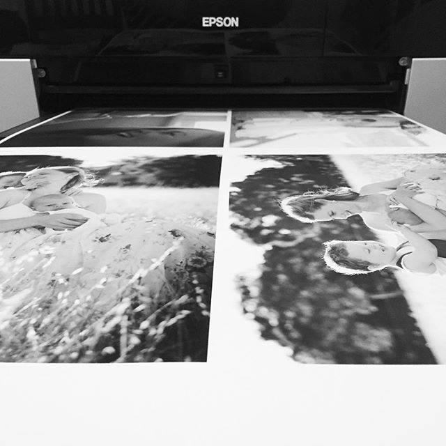 Finally! My printer has been playing up for months and these beautiful prints have been on hold for way too long. Seeing them come to life has me squealing with delight 😊. #printyourphotos #epsonaustralia #artisan photographer #adelaidephotographer #simonehanckel #blackandwhitephotography #coldpressbright