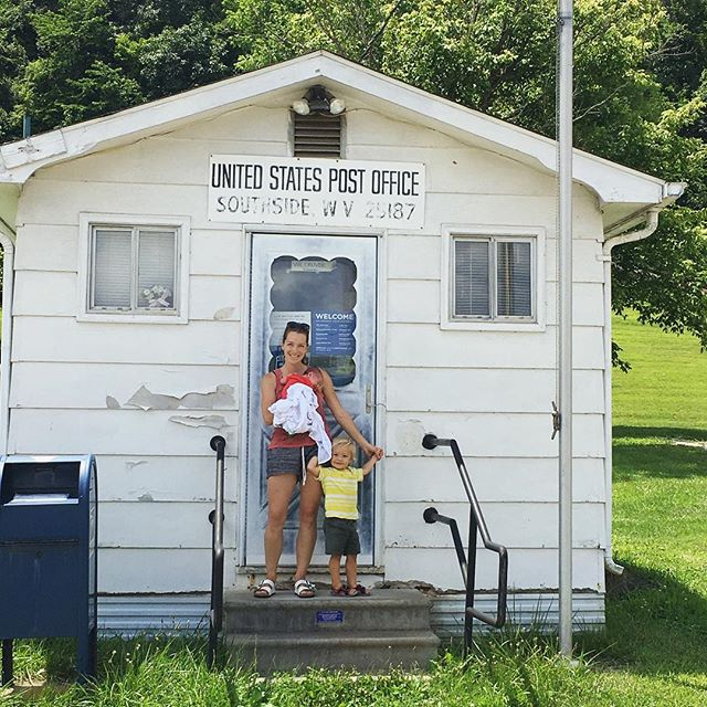 The tiniest post office again.
