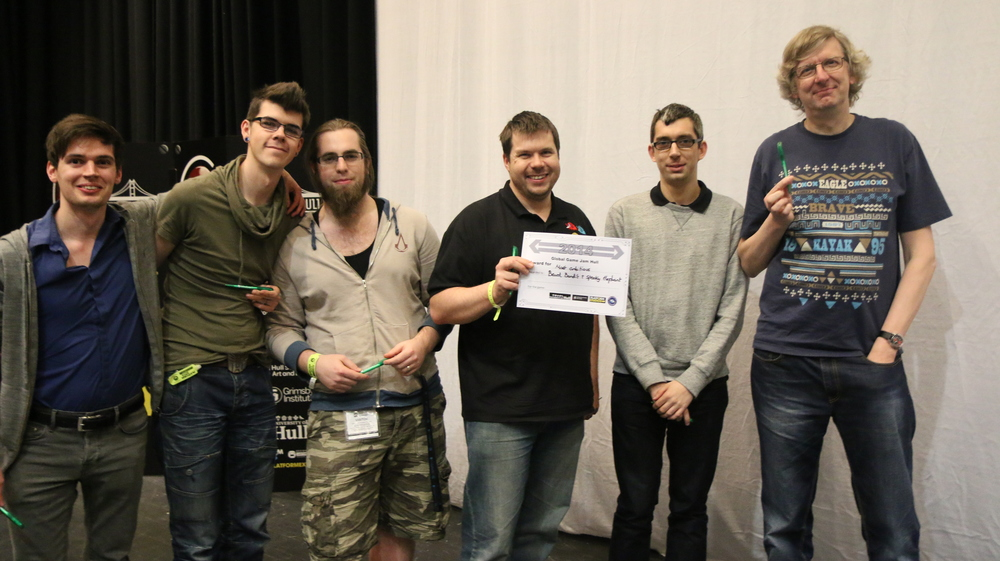 "This is the awesome ""Spooky Elephant - Beard Bandit Collective"" which picked up the award for ""Most Ambitious Failure"". Oh well."