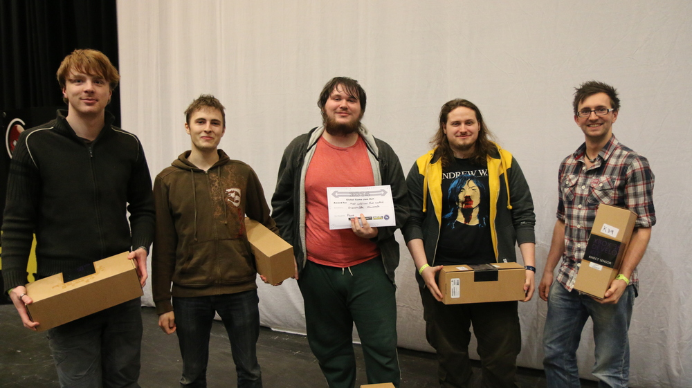 "The Disolveable Mammals  and their prizes for  ""Most Ambitious Working Game""."
