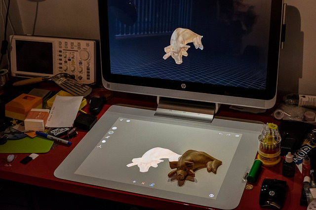 3D Scanning with the HP Sprout — robmiles com