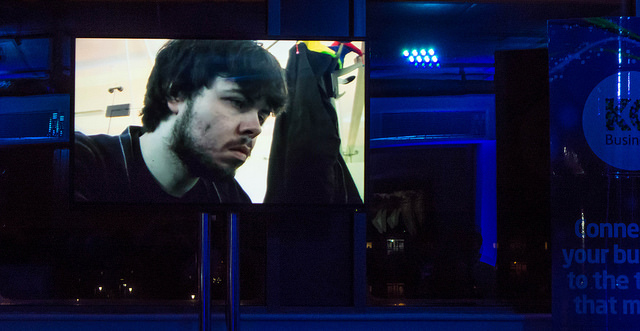 Adam from Betajester on the big screen...