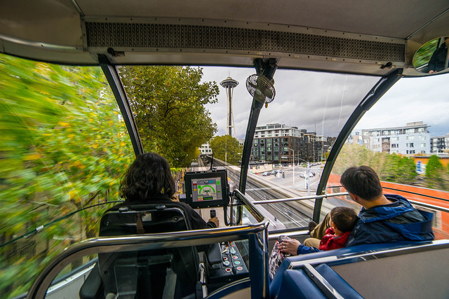 Grab the Monorail to the Space Needle
