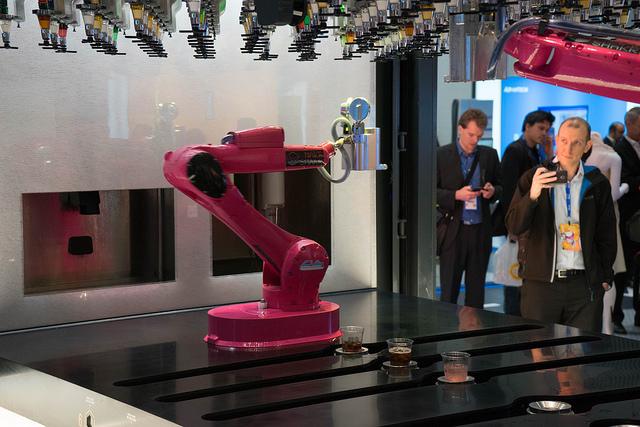 Robot Bartenders..