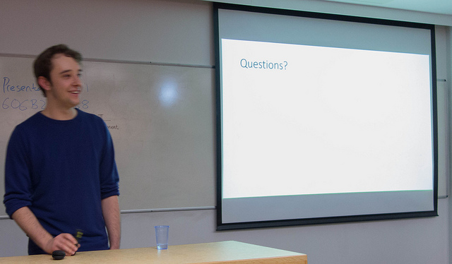 Tom in 2013 at a Rather Useful Seminar