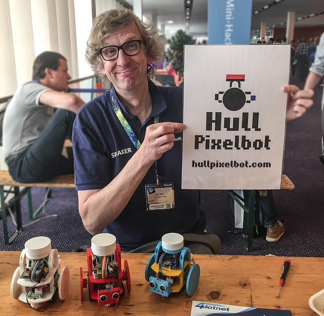 Would you buy a used HullPixelbot from this man?