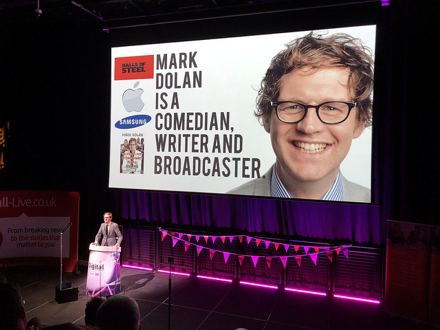 Mark Dolan was a great compere