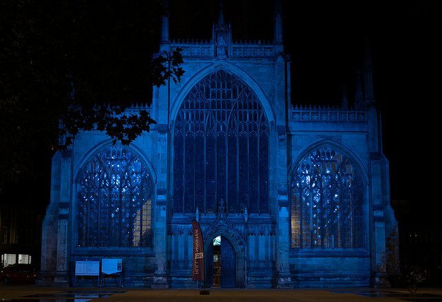 They even lit up Hull Minster in c4di blue