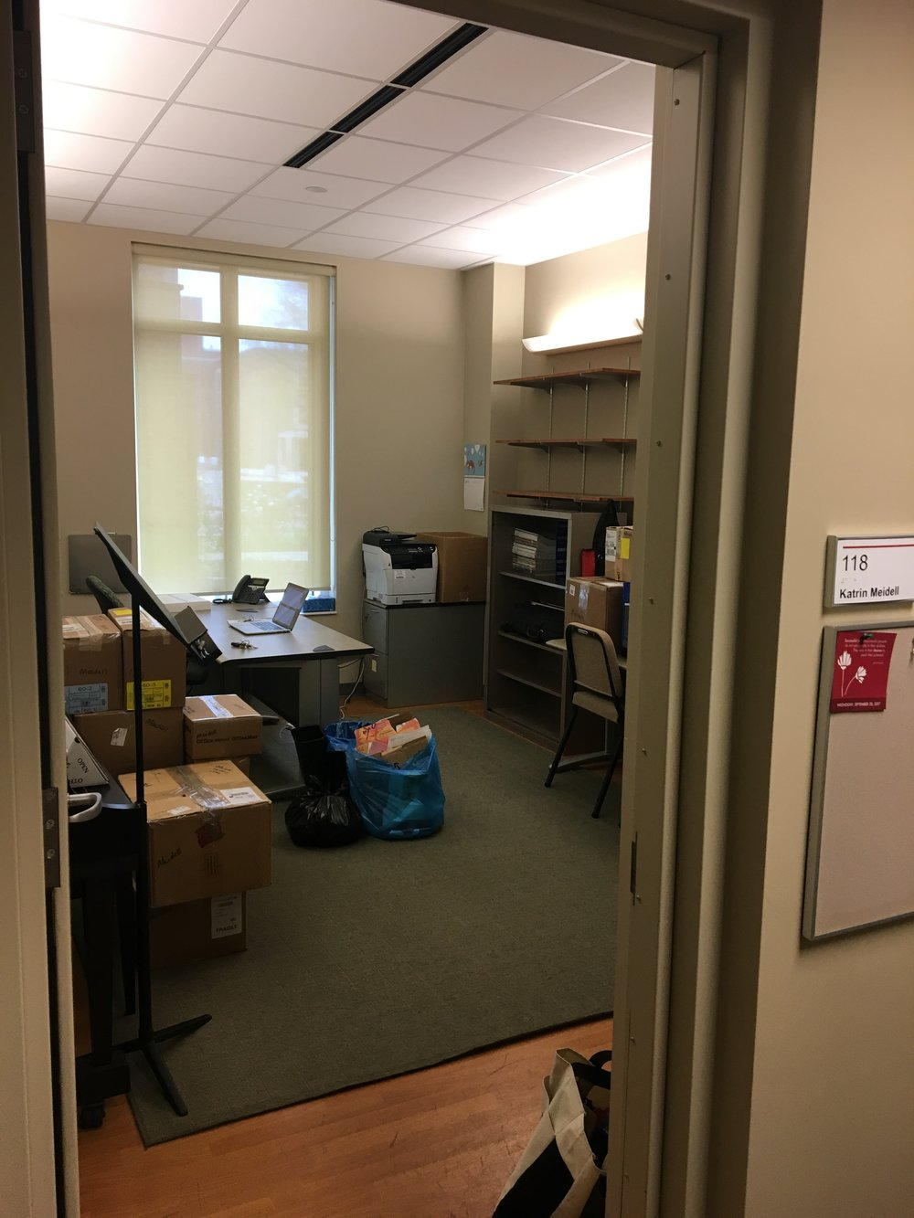 Office nearly packed up. :(