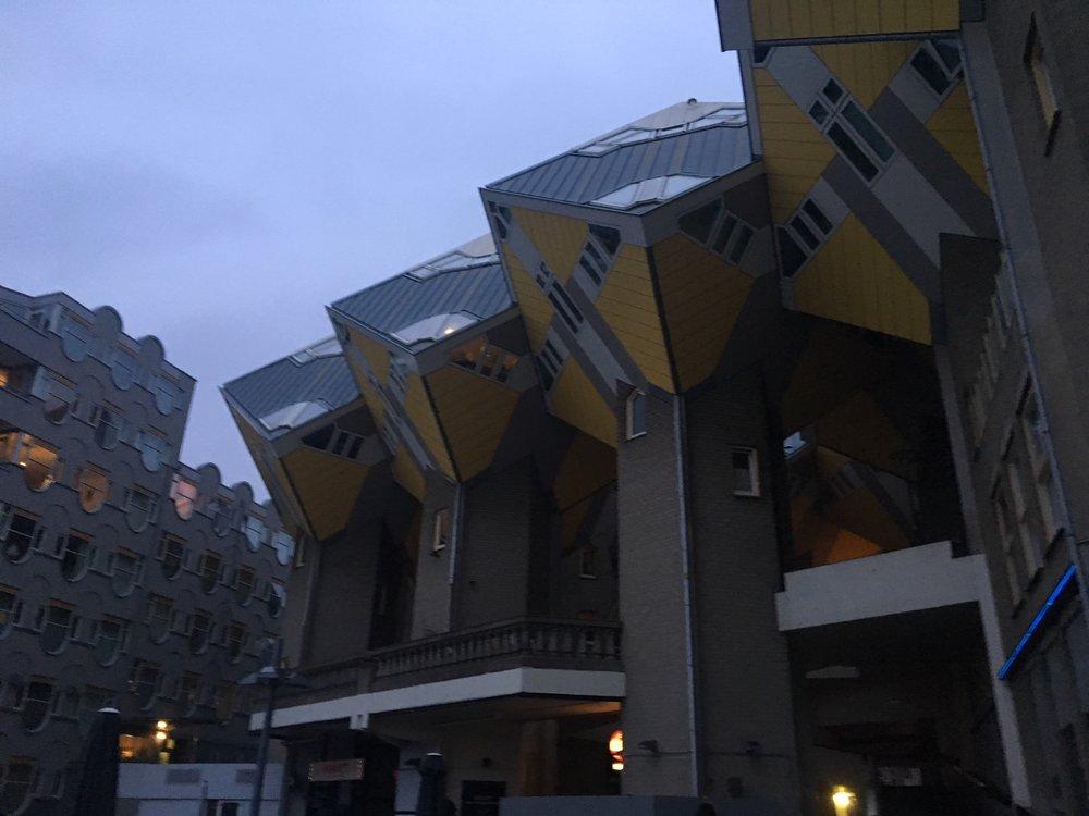 Crazy cube apartments!!