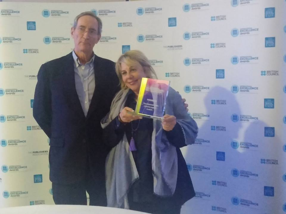 Barbara Zitwer receives the 2016 International Literary Agent of the Year Award