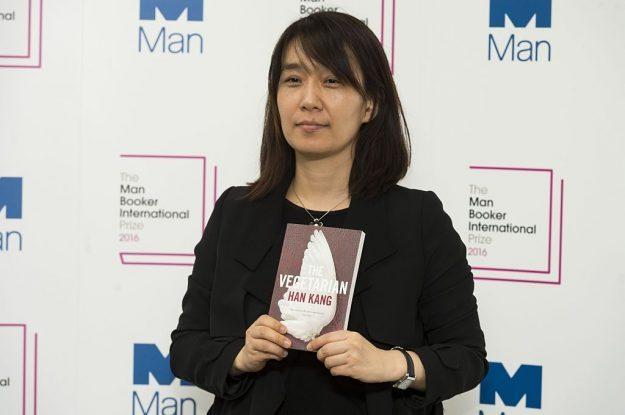 Han Kang wins the 2016 Man Booker International Prize for her novel, The Vegetarian.