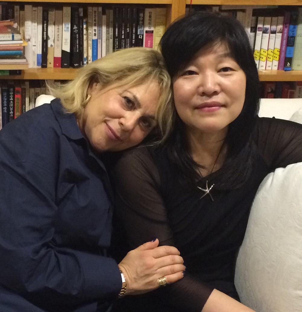 Barbara & Kyung-Sook Shin