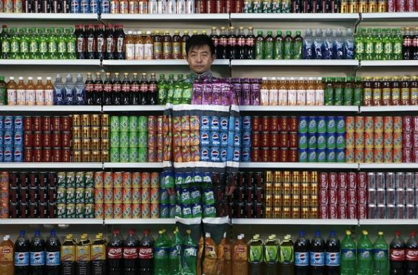 Liu Bolin,  The invisible Man