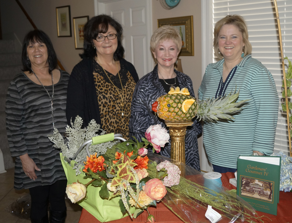 Pictured (l to r): Co-First Vice Presidents Delena Hamel and Mary-Ellen Hester; BGC President Charla Jordan; and Jenny Butler.
