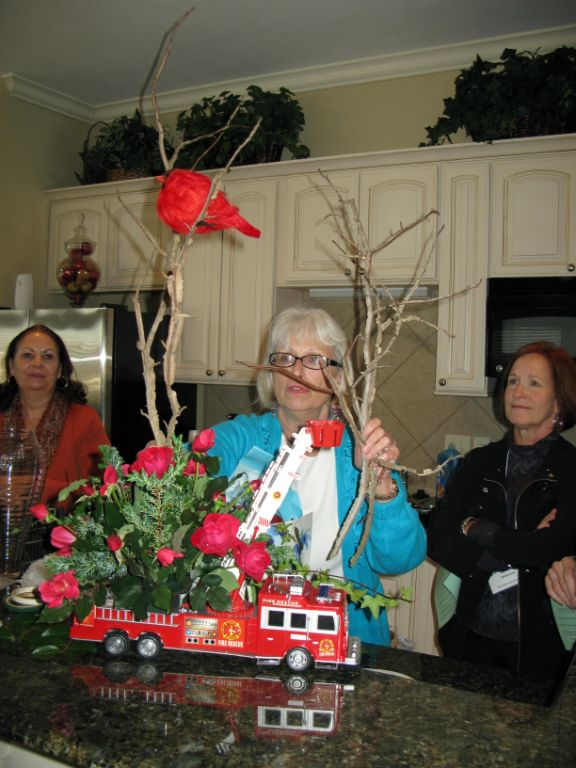 Pictured (l to r): Kathy Fletcher, May Hall, and Lynn Mahoney.