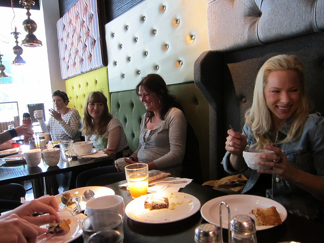 Breakfast at Hotel Flora with 2011 participants. Image: Amy Rowan