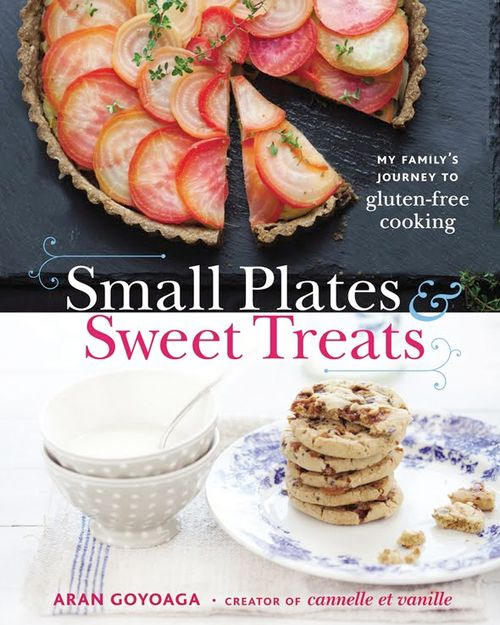 You can purchase Aran Goyoaga's book Small Plates & Sweet Treats by clicking on the image above.