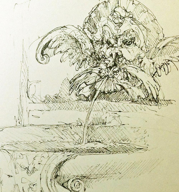Sketch: Suzanne Northcott