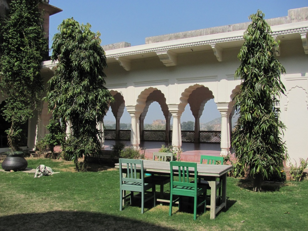 Workshop location at a private haveli.