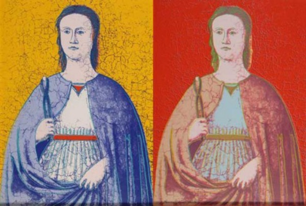 Andy Warhol  |  St. Apollonia  |  Patron Saint of Dentists