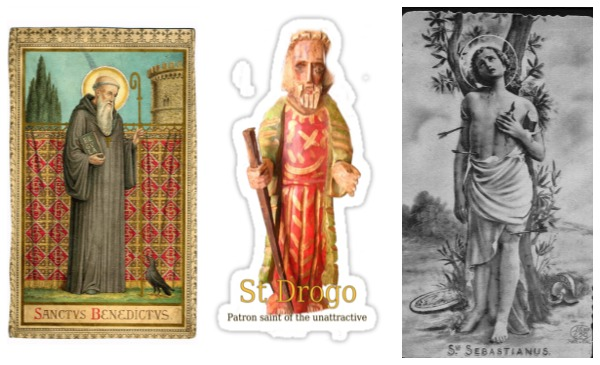 St. Benedict of Nursia | St. Drogo | St. Sebastian