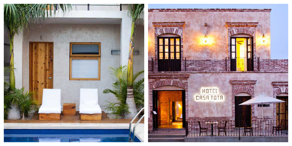 Hotel Casa Tota, Todos Santos, Baja Mexico