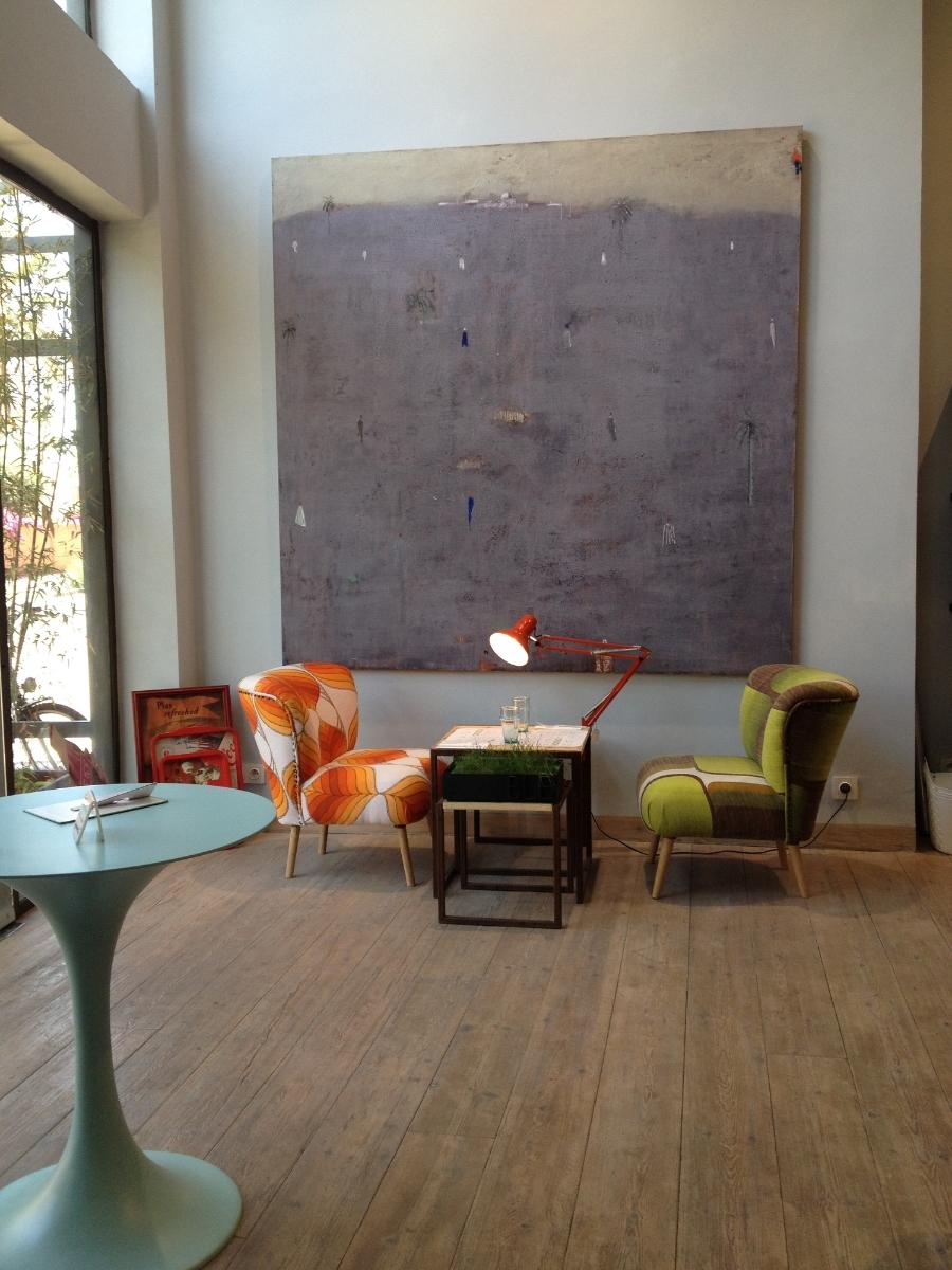 Cafe Jardin Majorelle