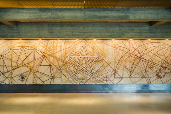 Entrance to Calouste Gulbenkian's Foundation