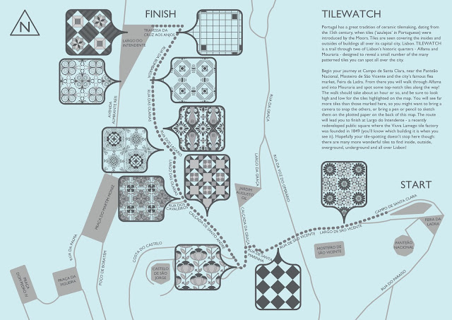 Aideen McCole | TILEWATCH ~ A Tile Spotting Trail Through the Streets of Lisbon