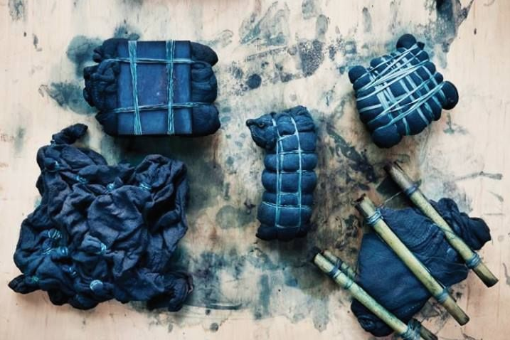 FUJINO,JAPAN - SHIBORI + INDIGO DYEING WORKSHOP IN THE MOUNTAINS OF JAPANAUGUST 19 - 30, 2018 - 2 SPACES OPEN ANDOCTOBER 28 - NOVEMBER 8, 2018