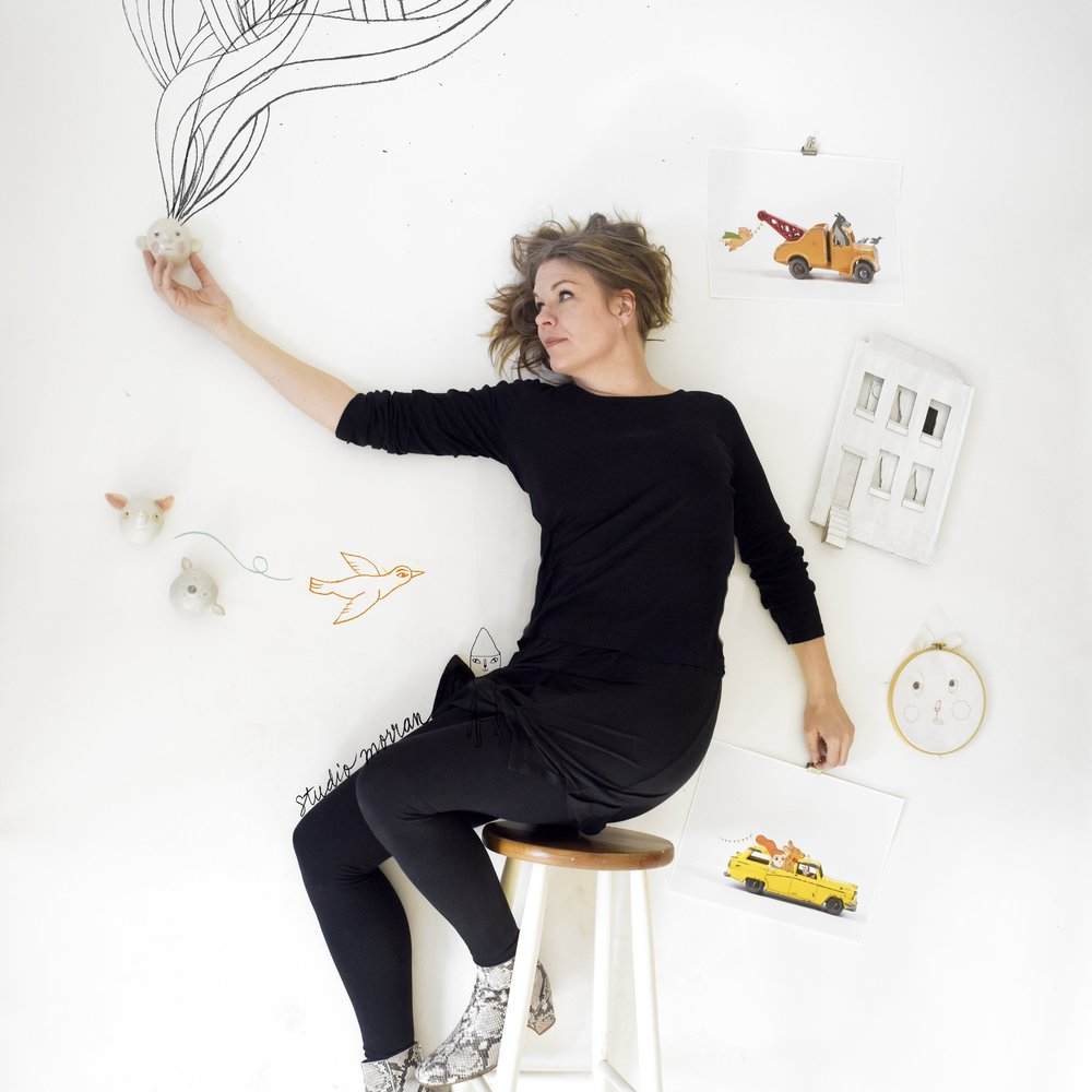 GOTEBORG, SWEDEN - ILLUSTRATION, COLLAGE, 3D ART WITH CAMILLA ENGMAN