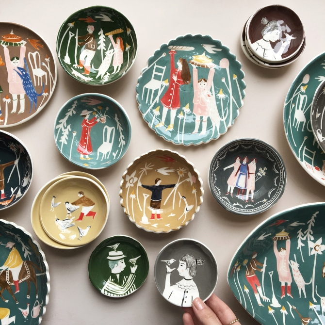 LISBON, PORTUGAL - ILLUSTRATION + CERAMICS DISCOVERY WORKSHOP WITH POLLY FERN