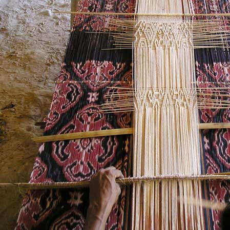UBUD, BALI - NATURAL DYEING WORKSHOP, HISTORICAL + SACRED TEXTILES OF BALI