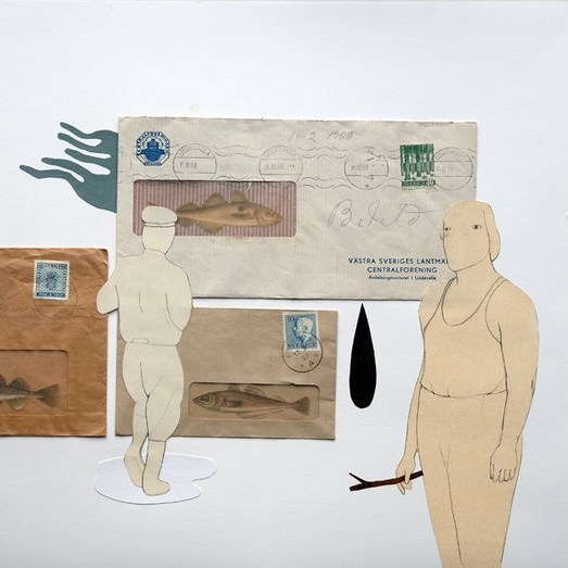Goteborg, Sweden - Collage, texture + mixed media art with Camilla Engman