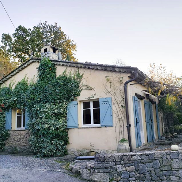 CHATEAUNEUF - GRASSE, FRANCE - FRENCH COUNTRY COOKING IN JULIA CHILD'S HOME