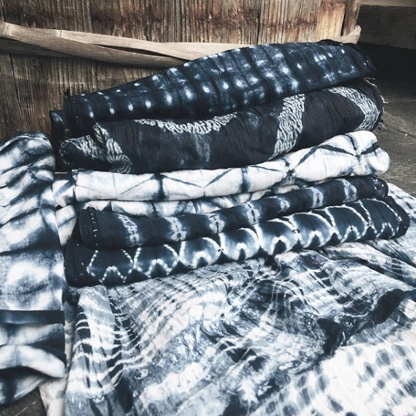 INDIGO + SHIBORI IN FUJINO, JAPAN - SHIBORI + INDIGO DYEING IN THE MOUNTAINS OF JAPAN APRIL 2019SOLD OUT