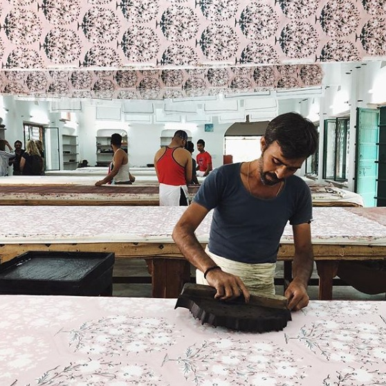 BLOCK PRINTING IN JAIPUR, INDIA with jen hewett - LEARN BLOCK PRINTING, PATTERN MAKING + INDIGO MUD RESIST OCTOBER 2019OPEN FOR REGISTRATION
