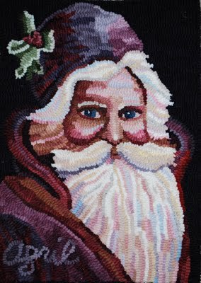 Saint Nicholas 200  Featured in  ATHA Newsletter  Dec 2010/Jan 201   Faces of the Seasons Serie