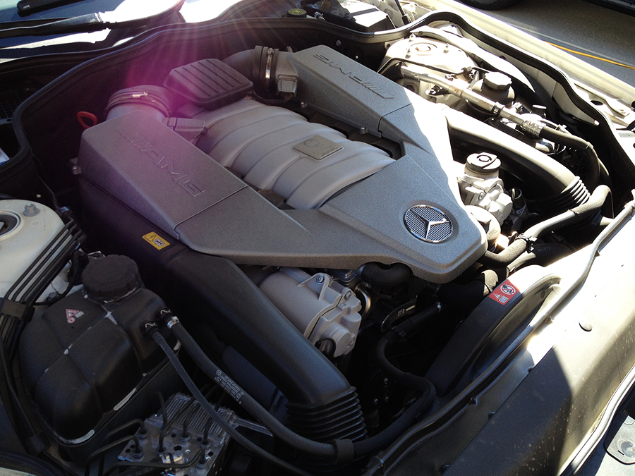 mercedes benz sl63 iwc edition engine before detailing (8).png