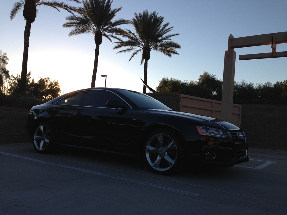 Sun or shade, this Audi A5 shines like never before.