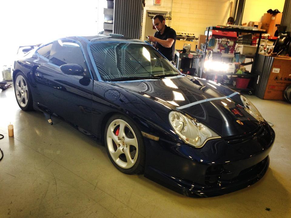 Porsche TT Scottsdale Auto Detailin