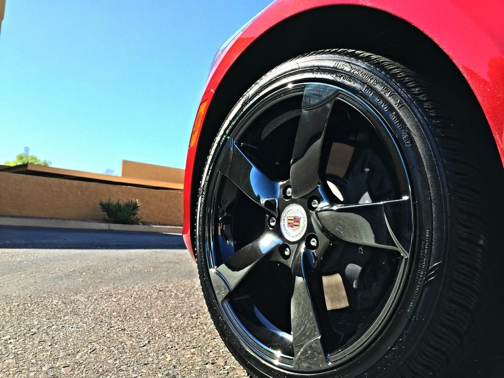Semi Permanent Tire Shine Coatings Detail Boss