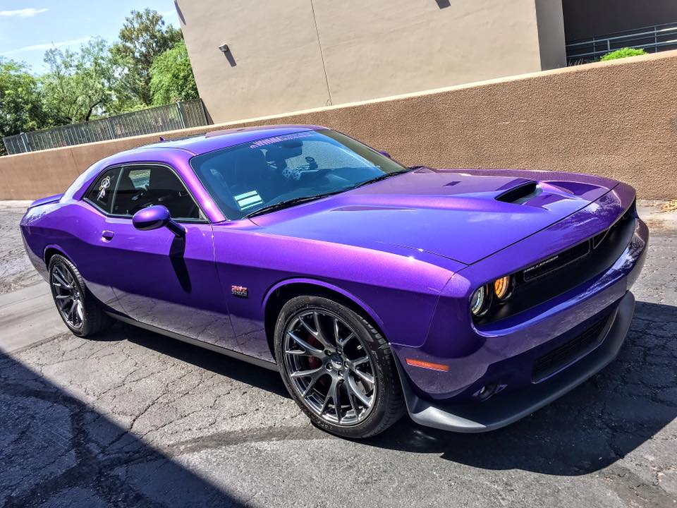 purple plum challenger