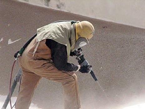 Sand blasting mg mako inc for Sandblasting and painting