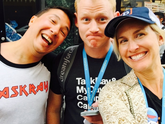 Bracket Labs co-founders ready to take on Dreamforce.